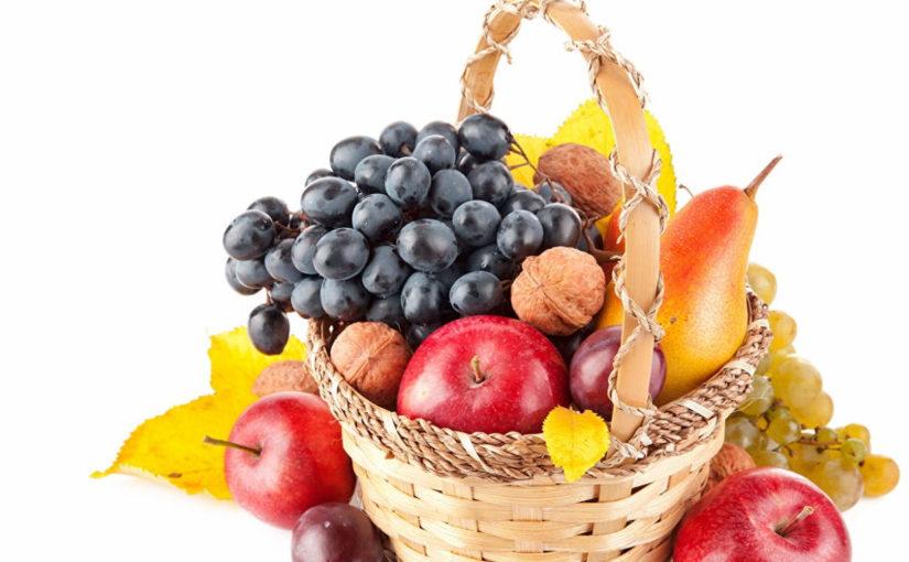 Польза яблок, груш, слив и винограда