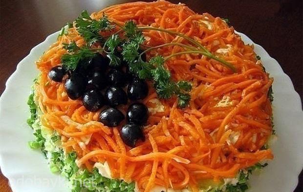 Салат–торт