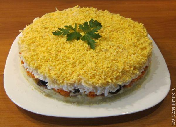 Салат – торт