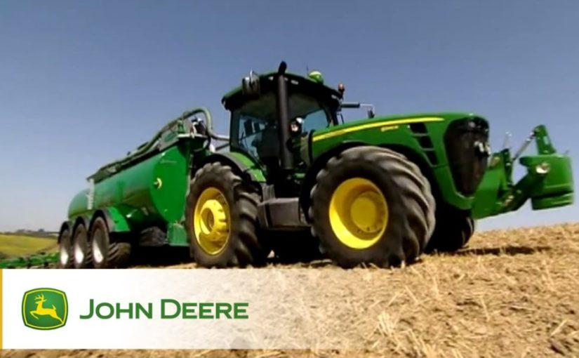 Тракторы John Deere серии 5M