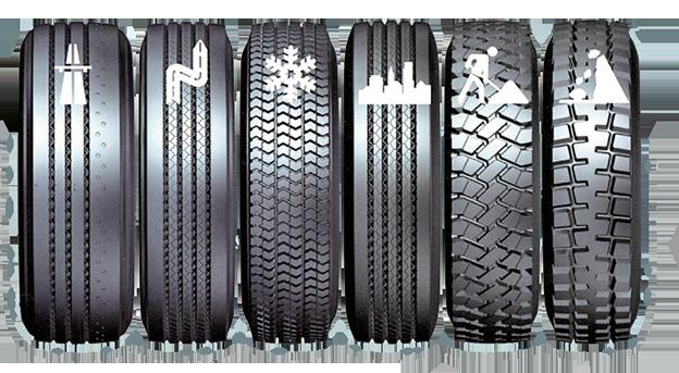 Подбор шин для грузового автомобиля