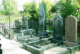 Места на кладбищах в Химках