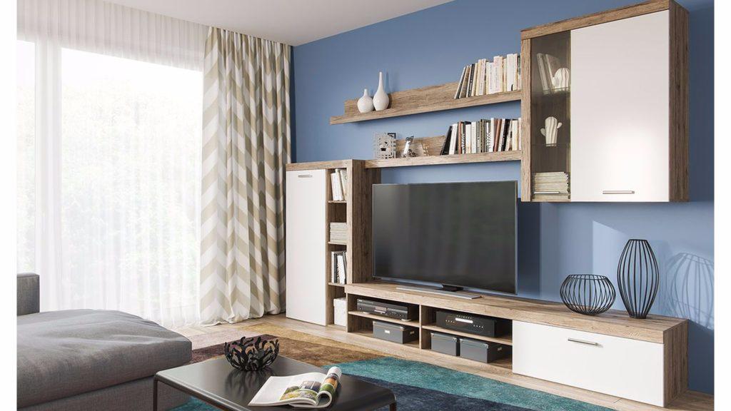 Отличия мебельных горок со стенками
