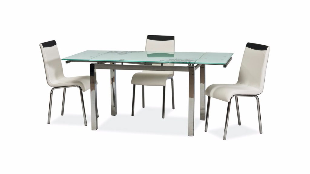 Стеклянные обеденные столы